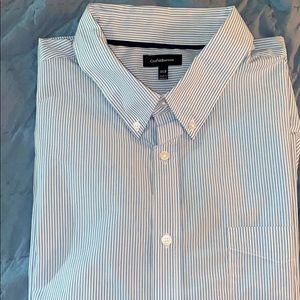 Size 3XL 3XB Tall Croft & Barrow SS Shirt Mens NWT